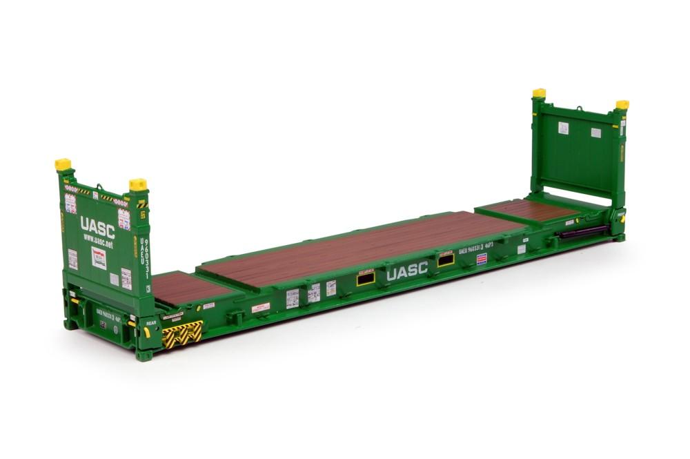 Ocean Traders European Shop Uasc 40 Ft Flat Rack