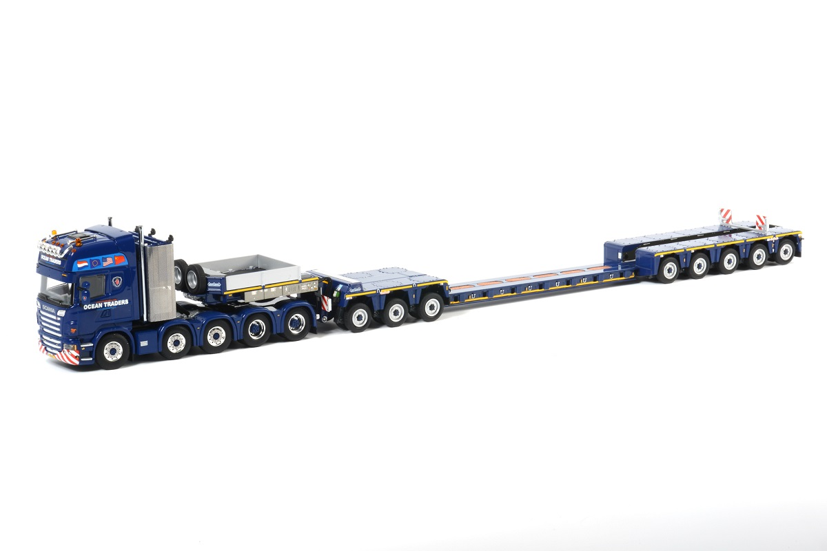 OCEAN TRADERS - Scania R730 10x4 / 3 axle ICP / Spine Bed / 5 axle Euro-PX