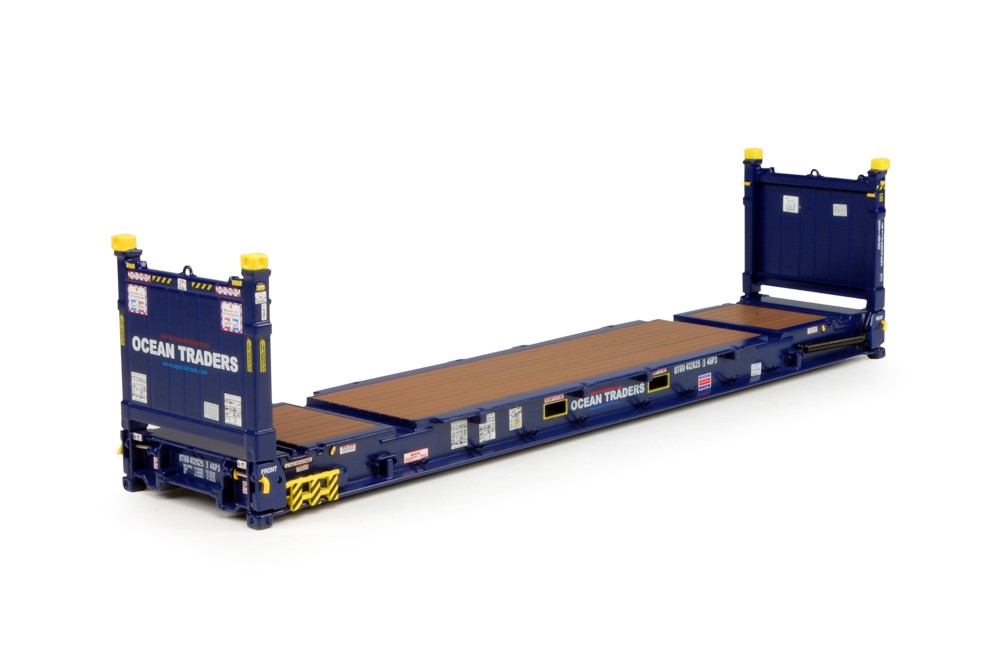 OCEAN TRADERS - 40 ft. Flat Rack container