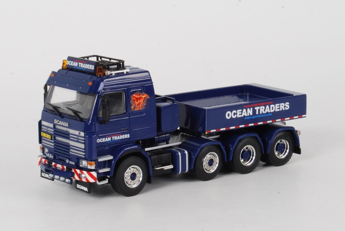 OCEAN TRADERS - Scania 143 Topline 8x4 + Ballast Box