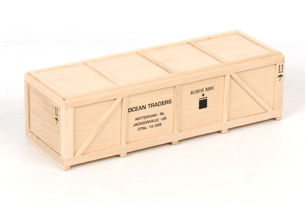 OCEAN TRADERS - Seacrate 185 x 65 x 58 mm.