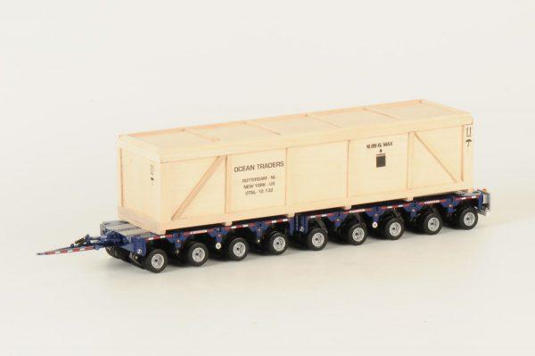 OCEAN TRADERS - US Scheuerle 9 axle InterCombi + Crate
