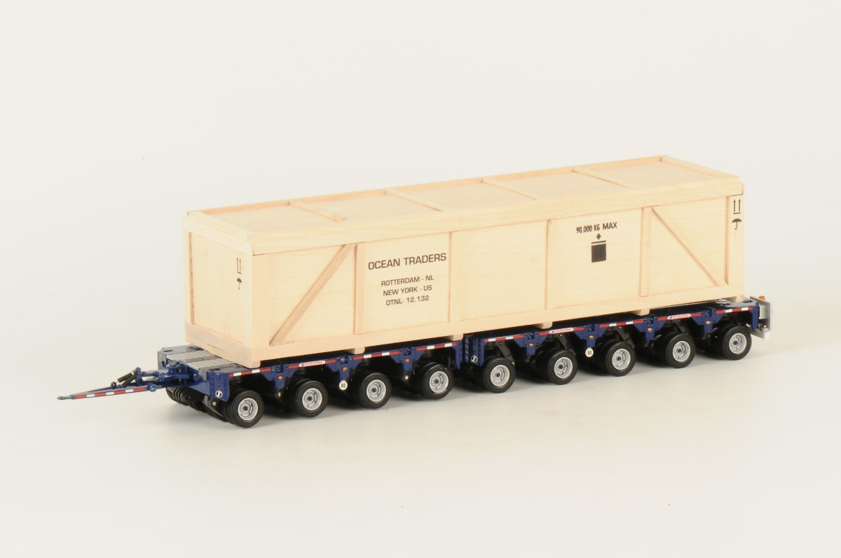 OCEAN TRADERS - US Scheuerle 9 axle InterCombi + Crate