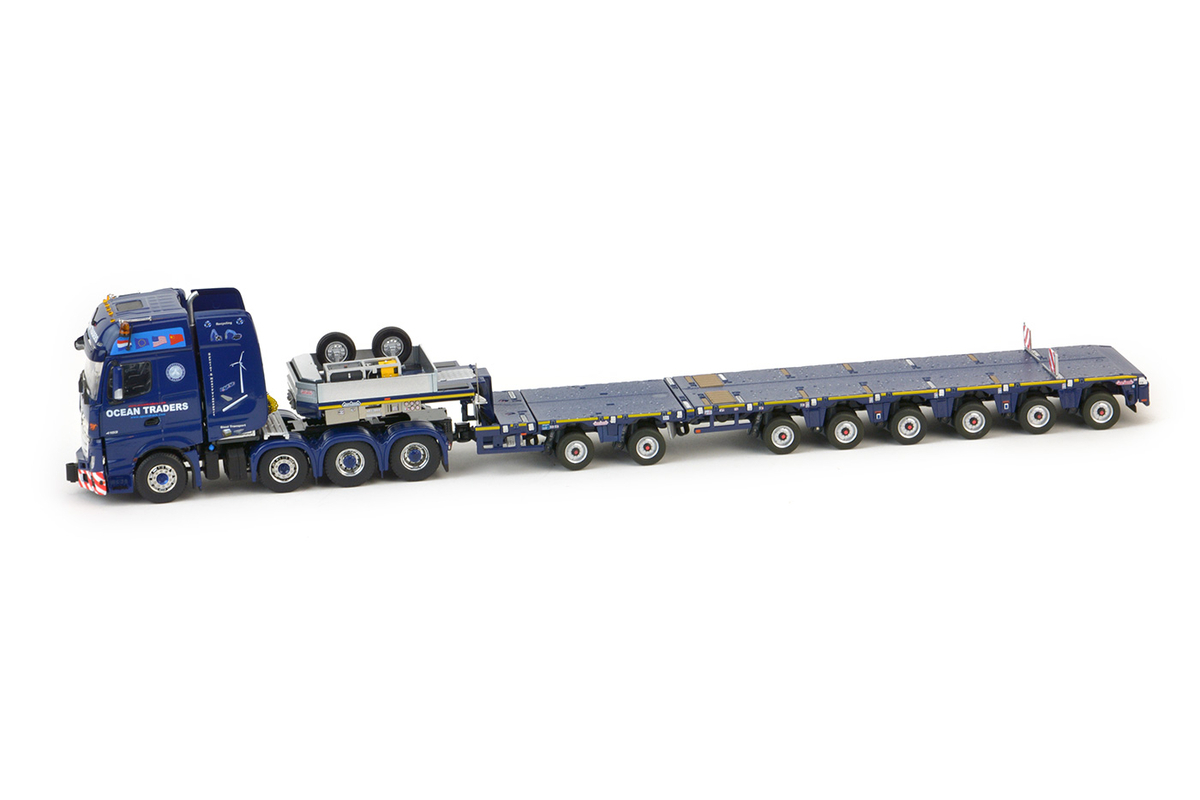 OCEAN TRADERS - Mercedes Actros SLT / Nooteboom MCO-PX 6 axle + 2 axle Multidolly